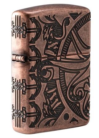 Зажигалка Zippo Armor™ с покрытием Antique Copper™ 49000 - фото 7998