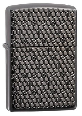 Зажигалка Zippo Armor™ с покрытием Black Ice® 49021 - фото 8030