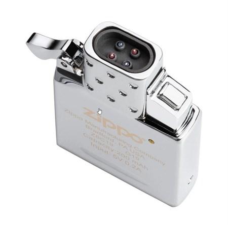Вставка (инсерт) с USB подзарядкой для широкой зажигалки Zippo - фото 8159