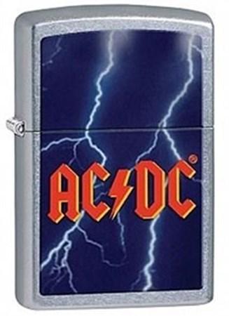 Широкая зажигалка Zippo ACDC 28453 - фото 8163