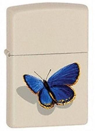 Широкая зажигалка Zippo Butterfly 24676 - фото 8164