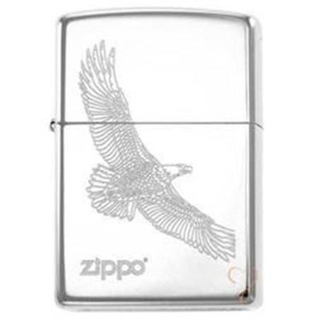Широкая зажигалка Zippo Large Eagle 279 - фото 8165