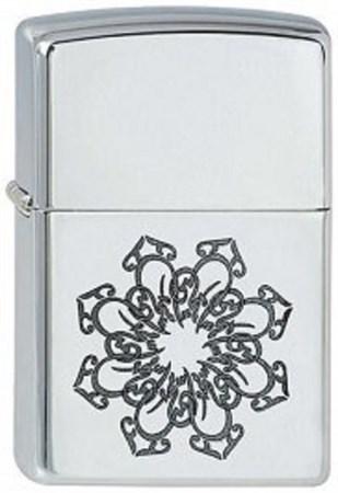 Широкая зажигалка Zippo Arabic Style 2 251 - фото 8170
