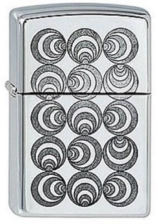 Широкая зажигалка Zippo Art Deco 1 253 - фото 8172
