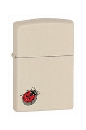 Широкая зажигалка Zippo Ladybug 24675 - фото 8214