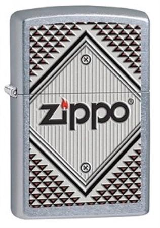 Широкая зажигалка Zippo Square 28465 - фото 8238