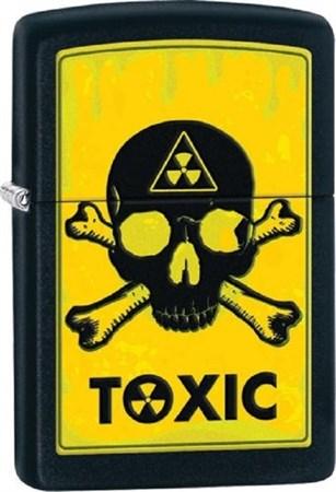 Широкая зажигалка Zippo Toxic 28310 - фото 8242