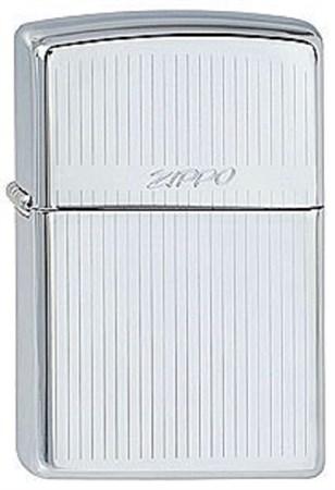 Широкая зажигалка Zippo Z pin stripe 308 - фото 8251