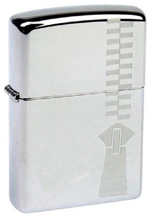 Широкая зажигалка Zippo Zipper 310 - фото 8253