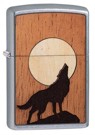 Зажигалка Zippo Woodchuck с покрытием Street Chrome™ 49043 - фото 8368