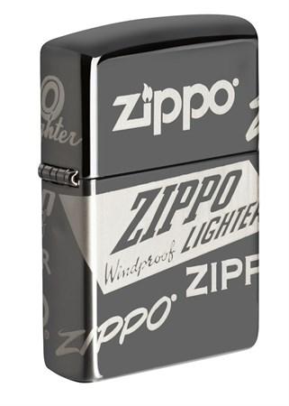Зажигалка Zippo Classic с покрытием Black Ice® 49051 - фото 8389