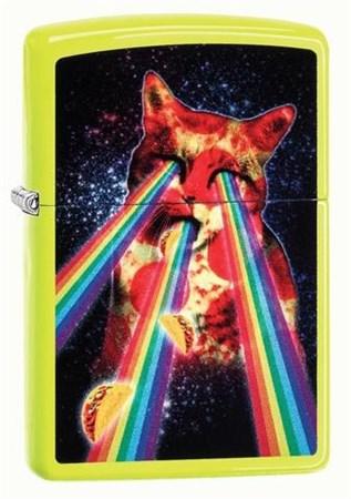 Зажигалка Zippo Classic с покрытием Neon Yellow 29614 - фото 8419
