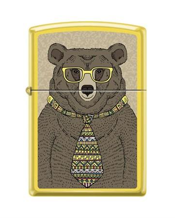 Зажигалка Zippo Медведь с покрытием Lemon™ 24839_bear - фото 8636