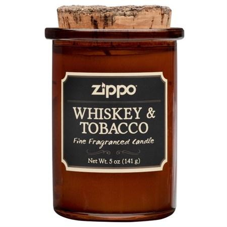 Ароматизированная свеча Zippo Whiskey & Tobacco 70015 - фото 8643