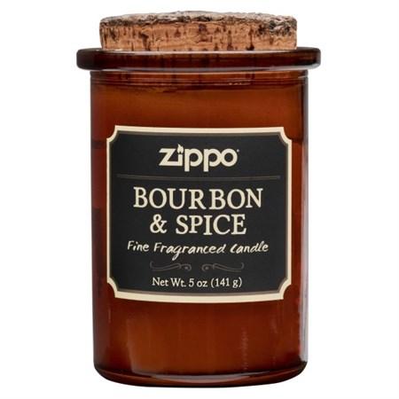 Ароматизированная свеча Zippo Bourbon & Spice 70017 - фото 8647