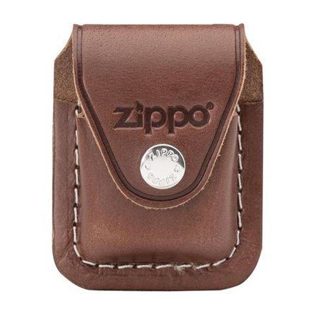 Чехол для зажигалки Zippo LPCB коричневый - фото 8712