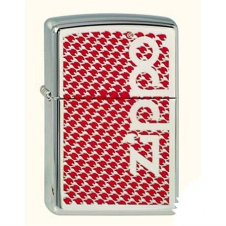 Широкая зажигалка Zippo&Flames 250 - фото 8726