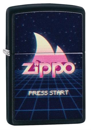 Зажигалка ZIPPO Black Matte 49115 - фото 8820
