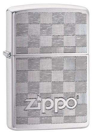 Зажигалка ZIPPO Brushed Chrome 49205 - фото 8956