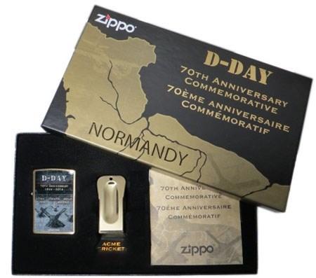 Подарочный набор Zippo D-Day 470 - фото 9017