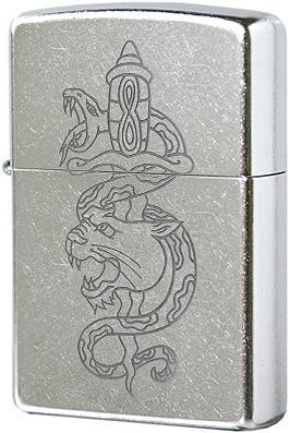 Зажигалка Zippo Snake & Lion 207 - фото 9025