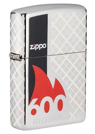 Зажигалка ZIPPO 600 Million 49272_DBL4904 - фото 9058