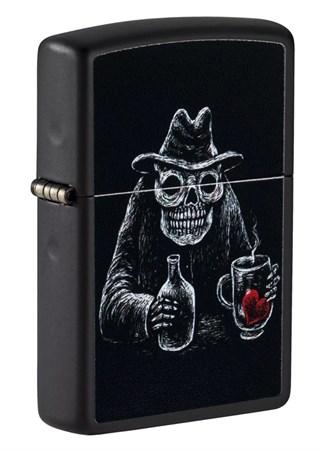 Зажигалка ZIPPO Bar Skull Design 49254 - фото 9104