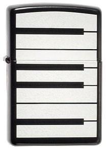 Зажигалка широка Zippo Piano 21064 - фото 9288
