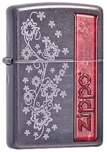 Зажигалка широкая Zippo Design 28378 - фото 9293