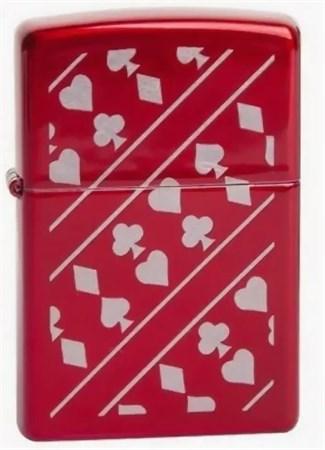Зажигалка Zippo Card Suits (MP317361) 21063 - фото 9294