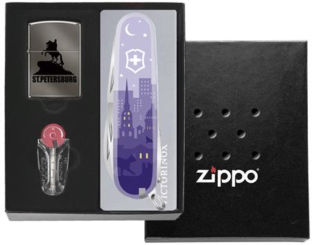 Подарочный набор Zippo Санкт-Петербург - фото 9354