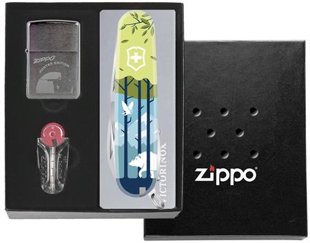 Подарочный набор Zippo Россия Охота на вепря - фото 9355
