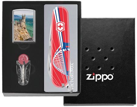 Подарочный набор Zippo Россия Крымский мост - фото 9358