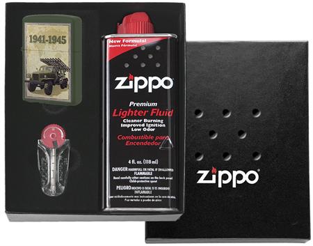 Набор Zippo День победы (подарочная коробка + зажигалка) - фото 9364