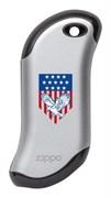 Аккумуляторная грелка USB Zippo Eagle and American Flag: HeatBank 9s