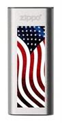 Аккумуляторная грелка USB Zippo American Flag Design: HeatBank 3