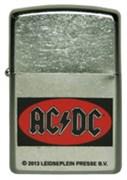Широкая зажигалка Zippo AC/DC 207 (Cl011700)