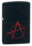 Широкая зажигалка Zippo Anarchy 20842