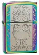 Широкая зажигалка Zippo Engraved Filigree 24203