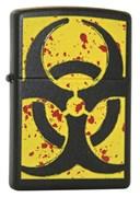 Широкая зажигалка Zippo Hazardous 24330