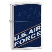 Широкая зажигалка Zippo Us Air Force 24827
