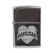 Широкая зажигалка Zippo I Love Russia 250 I Love Russia
