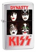 Широкая зажигалка Zippo Kiss 28019