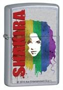 Широкая зажигалка Zippo Shakira 28028