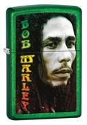 Широкая зажигалка Zippo Bob Marley 28256