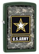Широкая зажигалка Zippo U.S. Army 28631