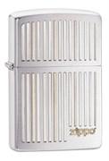 Широкая зажигалка Zippo Vertical Lines 28646
