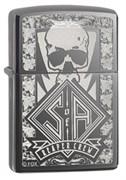 Широкая зажигалка Zippo Sons of Anarchy 28757