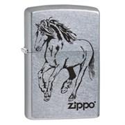 Широкая зажигалка Zippo Horse 28775