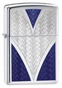 Широкая зажигалка Zippo DEEP V 24205